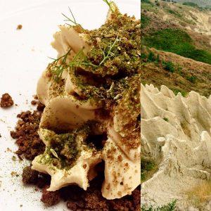 Gianni Dezio, Terre dei Calanchi, godimento su piatto, 2016